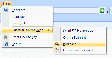 SmartFTP license installation