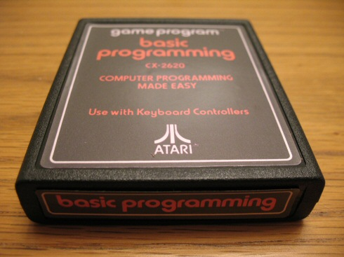 Atari 2600 basic programming cartridge