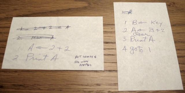 Atari 2600 sample code