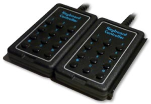 Atari keypad controller