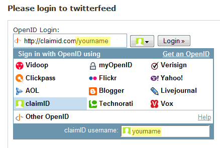 openid login helper
