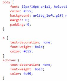 MVC: CSS = View