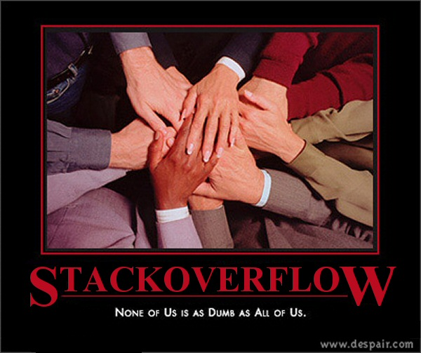 Stack Overflow: none of us is as dumb as all of us