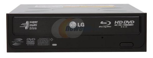LG GGC-H20LK Blu-Ray HD-DVD combo drive