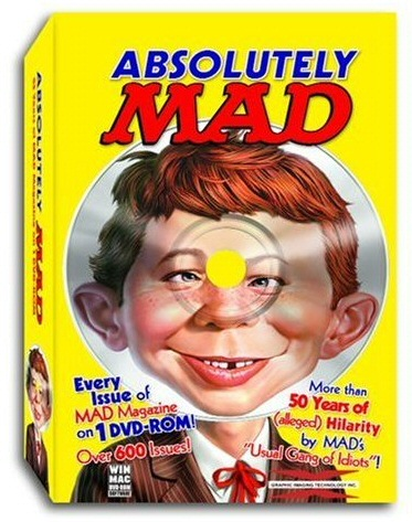 Absolutely Mad DVD