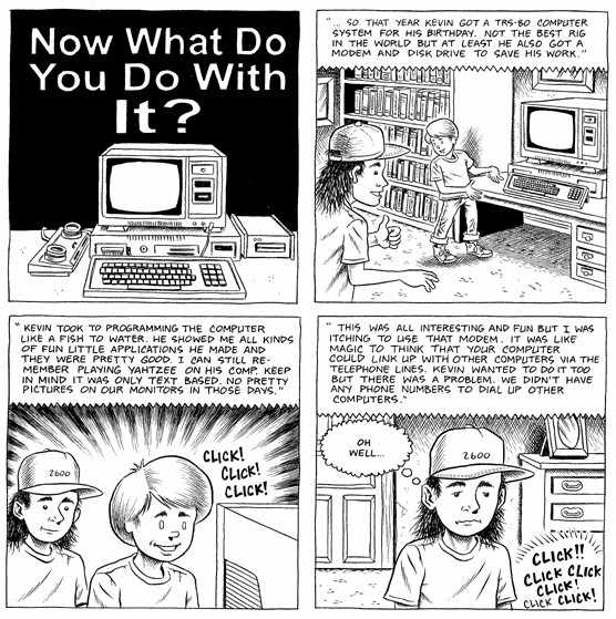 Wizzywig #2: Hacker, page 10 panel