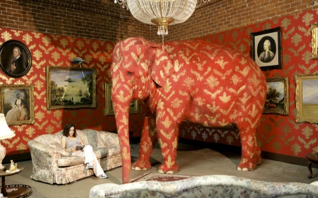 Banksy: elephant in room