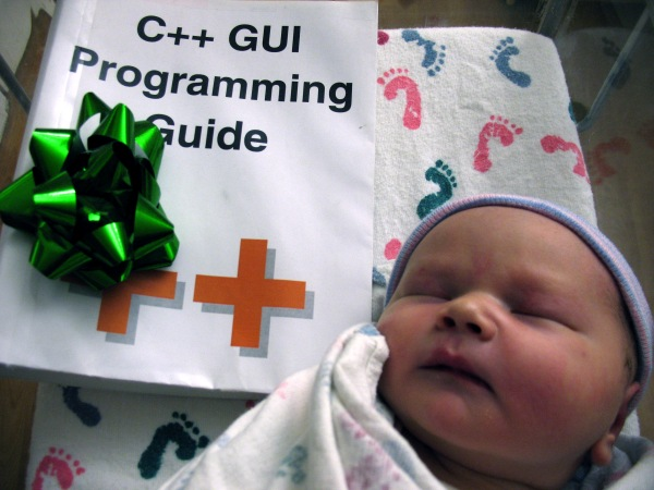 Henry Burton Atwood (aka Rockhard Awesome) meets the C++ Gui Programming Guide