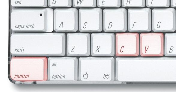 keyboard: ctrl-c, ctrl-v