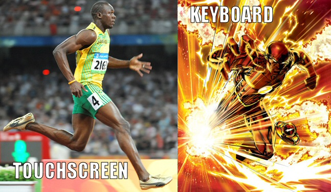 Touchscreen-vs-keyboard