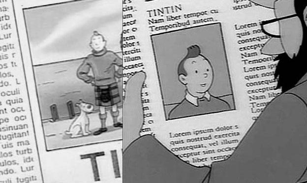 Tintin-lipsum