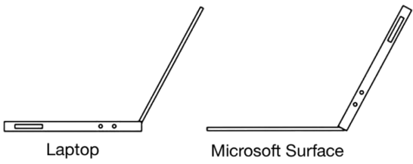 Laptop vs. Surface