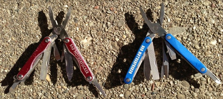 Leatherman Squirt p4 old vs new