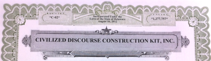 Civilized Discourse Construction Kit